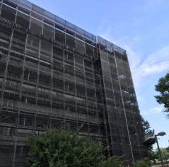 西東京 公共足場組立 大規模修繕工事 6,122㎡
