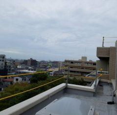 屋上防水用 スタンション親綱設置